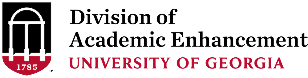 Division of Academic Enhancement at UGA Logo
